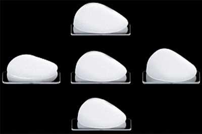 Рис Анатомические имплантаты выпускаются с различным соотношением высоты и ширины протеза.