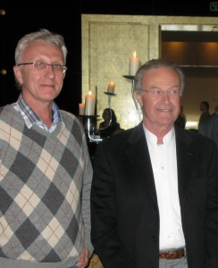 Основатель международного общества регенеративной медицины Gino Rigotti и Андрей Гурьянов