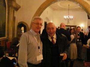 Roger Khouri  изобретатель системы BRAVA и  метода интенсивного увеличения груди а помощью липофилинга с учеником Андреем Гурьяновым. г. Регенсбург