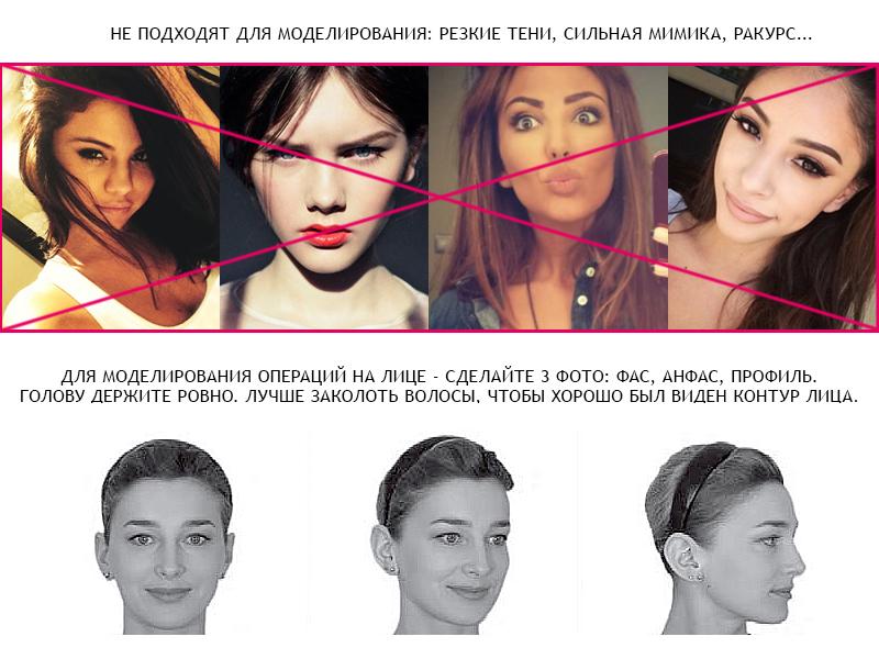 модель_лицо